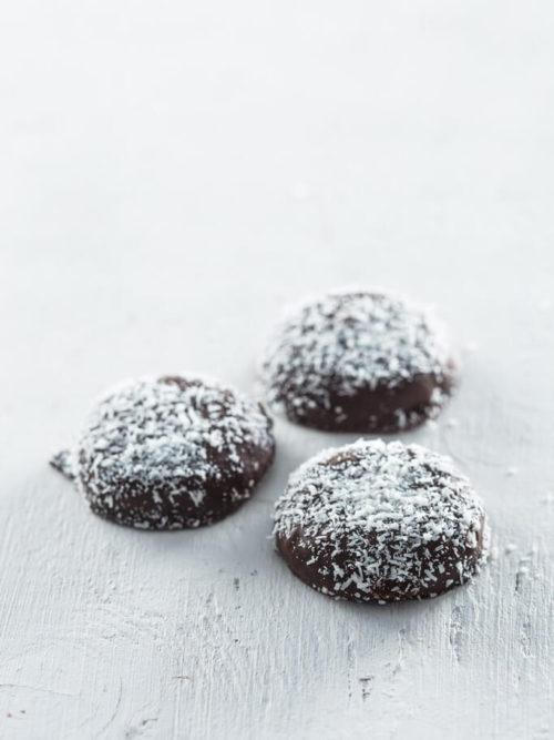Kokosnoot sneeuwballen