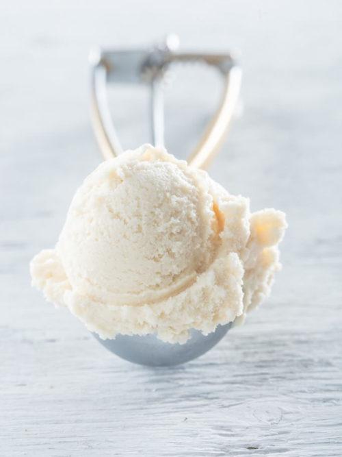 Gezouten karamel ijs