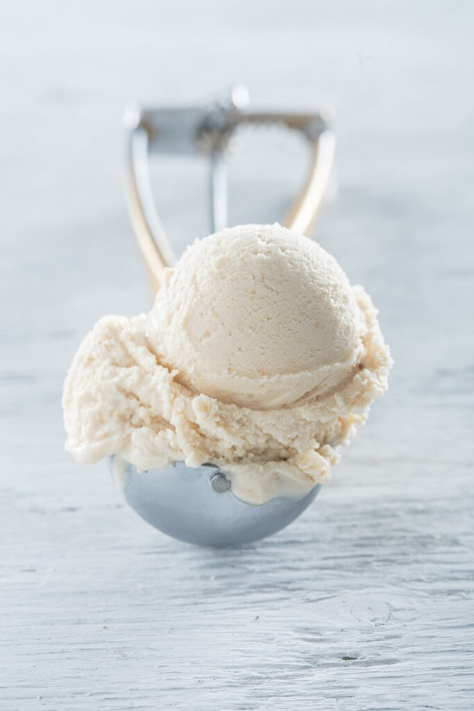 Speculaas ice cream