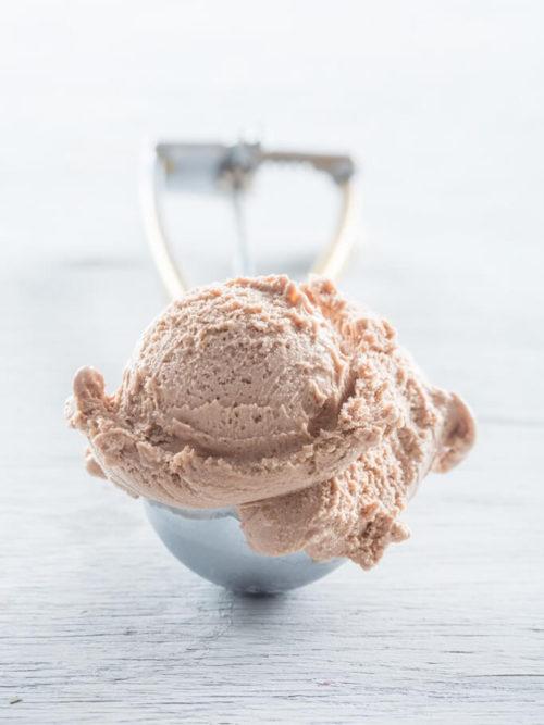Crème glacée au Nutella