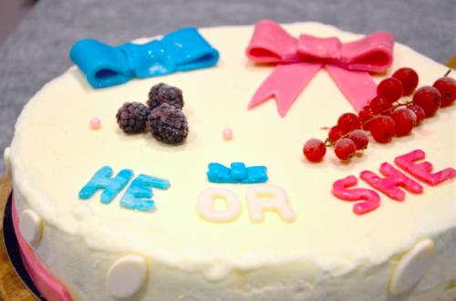 Is het een jongen of een meisje? Originele onthulling van het geslacht van je baby met onze Gender Reveal Taart!