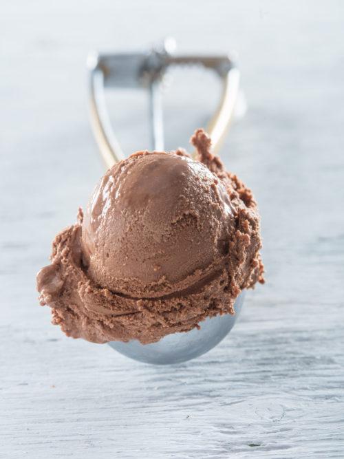 Vegan chocolade ijs (1/2 liter)