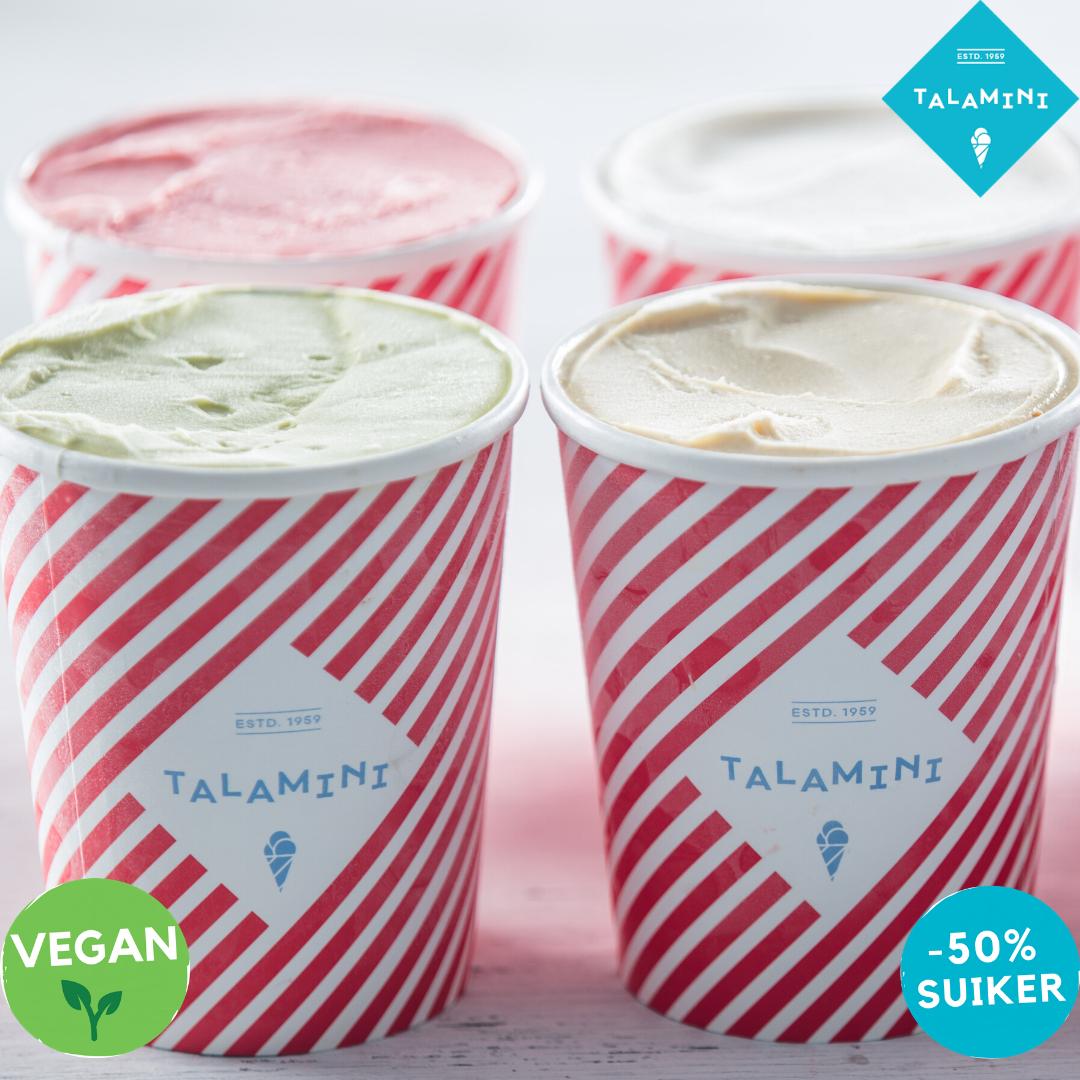Nieuw in ons assortiment: Talamini vegan en Talamini -50% suiker