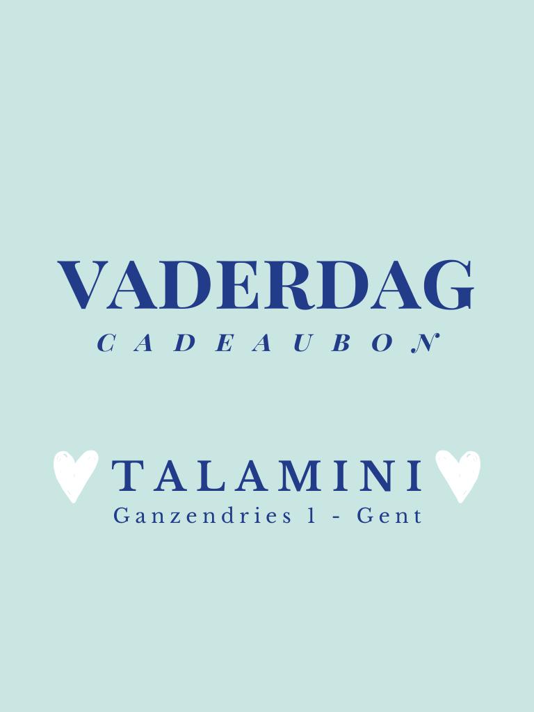 Privé: Cadeaubon vaderdag  -Talamini-