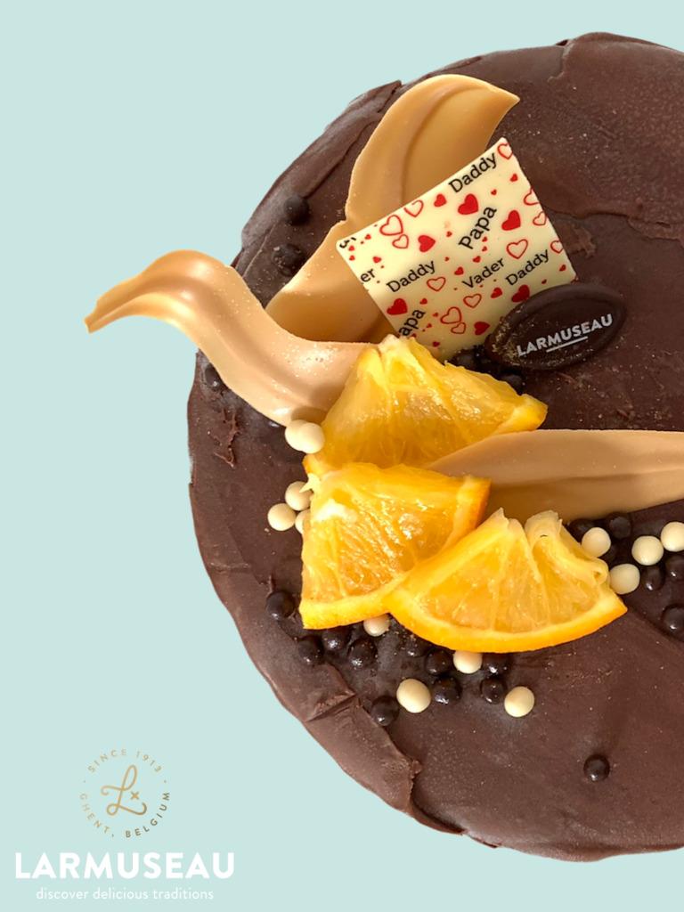 Privé: 'Lovely papa' (Vanille met infusie van chocolade & sinaasappel)